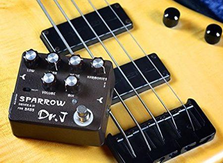 Joyo Dr.J D-53 Sparrow Bass DI & Drive, altro giro altro preamp