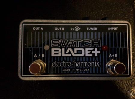 Electro-Harmonix SwitchBlade+, fare ordine in pedaliera in modo semplice