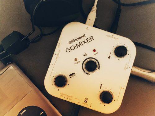 Roland Go:Mixer, scheda audio social