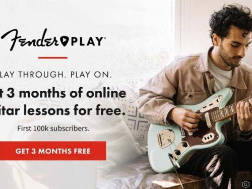 Fender offre Fender Play per 3 mesi gratis, ma com'è?