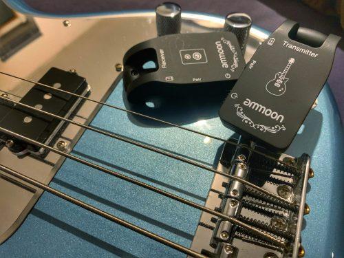 Ammoon: un Sistema Wireless per basso e chitarra a meno di 40€?