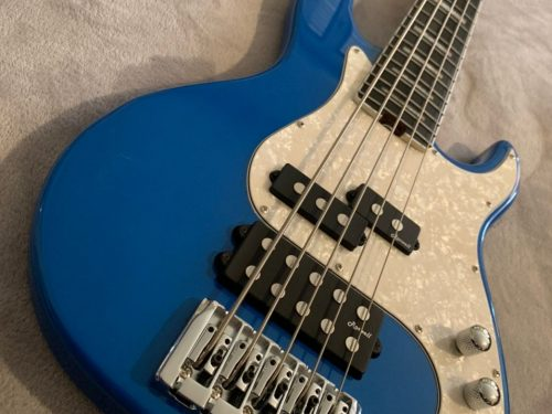 Harley Benton Enhanced MP-5EB Lake Blue, essere migliori